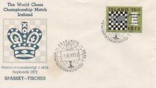 Chess Ajedrez FDC Islandia 1972