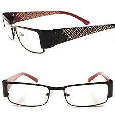 330372a3ee Contemporary Chic Designer Elegant Womens Black Rectangle Clear Lens Eye  Glasses