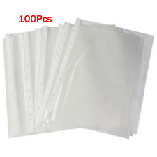 Office A4 Papers Document Sheet Protector Clear White HY
