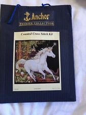 RARE Anchor Premier Collection Unicorn Classic counted cross stitch kit  sealed