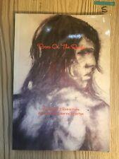 Roses On The Rocks , David J Robertson Poetry , Art By Lauren Broxton, Rare