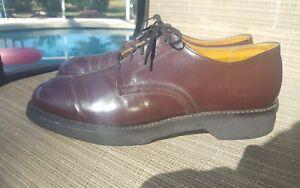 MASON Chippewa Falls USPS Postal POSTMAN Oxford Shoe Crepe Sole. Size 10C