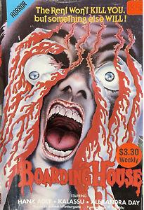 BOARDING HOUSE VIDEO VHS 1982 HORROR MOVIE SLASHER SORRORITY PAL SHOWCASE AUST