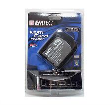 EMTEC EKLMFLUO3 MULTI CARD READER USB 3.0 LETTORE DI MEMORIE UNIVERSALE