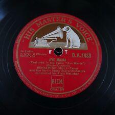 78 rpm BENIAMINO GIGLI Ave Maria/AGNUS DEI