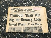 JULY 15 1970 NATIONAL SPEED & SPORTS NEWS car racing newspaper - PLYMOUTH