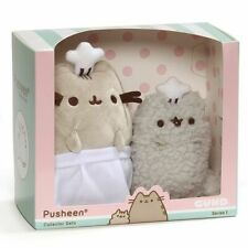 Gund Pusheen the Cat and Stormy Cat Baking Collector Set Soft Plush Toys