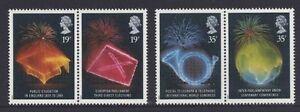 MINT 1989 GB ANNIVERSARIES PUBLIC EDITION, PARLIAMENT STAMP SET OF 4 MUH