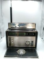 ZENITH TRANS-OCEANIC ROYAL 7000 11 BAND AM/FM SW RADIO WORKS NO AC CORD INCLUDED