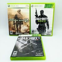 Call of Duty Xbox 360 lot - Modern Warfare MW2 + MW3, Black Ops 2