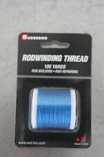 Gudebrod Custom Fishing Nylon Blue 521B Rod Winding Thread 100 Yds New