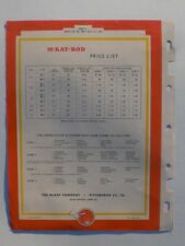 The McKay Company Pittsburgh Pa York, Pa McKay-Rod Welding Electrodes 1947