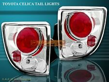 00-05 TOYOTA CELICA TAIL LIGHTS CHROME LAMPS 04 03 02
