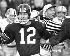 Cfl 1960's Ottawa Rough Riders Qb Russ Jackson vs Hamilton 8 X 10 Photo Picture
