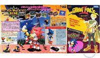 Flyer Shining Force II 2 Sonic Chirashi Handbill Sega Megadrive Mega CD Promo GC