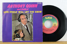 """7""""  ANTHONY QUINN - Life Itself Will Let You Know - TOOTS THIELEMANS All My Life"""