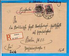 Dr/stentsch a 29.9.20, E. - BRF. M. 90+91 A. Space. Gez. R. - Paper