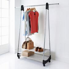 Contemporary Extendable 2 Shelf & Garment Rail - Storage Space