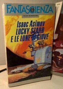 LUCKY STARR E LE LUNE DI GIOVE Asimov 1991 FANTASCIENZA OSCAR MONDADORI Hickman