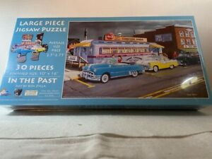 IN THE PAST LARGE JIGSAW PUZZLE; KEN ZYLLA; STIMULATE DEMEMTIA DINER SUNSOUT