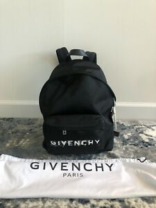 Authentic NWT Givenchy Nylon Stencil Backpack in Black and White 1550$