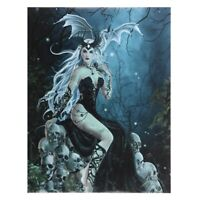 DRAGON & FAIRY GOTHIC CANVAS 'MAD QUEEN' BY NENE THOMAS MYTHICAL WALL ART