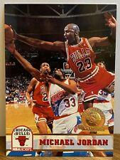 🔥📈Rare 1993-94 NBA Hoops 5th Anniversary Gold Michael Jordan #28 HOF NM+🔥📈