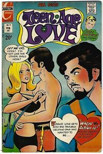 Teen Age Love #91 - Art Cappello/Sal Gentile cover - Nicholas/Alascia art