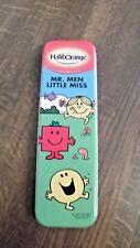 "Haliborange / Mr Men & Little Miss Metal Pencil /Pen Case 8"" New"