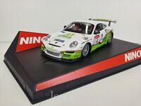 """Slot Car Scalextric Ninco 50464 Porsche 997 """" Vallejo """" Rally Rías Baixas Redcom"""