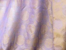 70 % Seide – Seidenstoff lila/beige110 cm breit Meterware