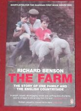 THE FARM ~ Richard Benson ~ ONE FAMILY AND THE ENGLISH COUNTRYSIDE