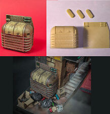 Trash garbage can 1/24 Blade Runner inspired model kit Dump ideal spinner sedan