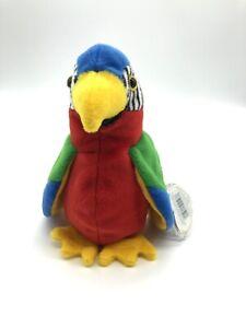 Ty Beanie Baby Jabber Parrot