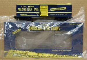 American Flyer 6-48364 60th Anniversary Boxcar S-Gauge LNIB