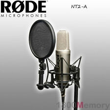 Rode NT2-A Studio Microphone Mic Bundle Complete Professional Recording Package