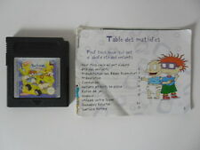 LES RAZMOKETS LE FILM - NINTENDO GAME BOY COLOR - AVEC NOTICE