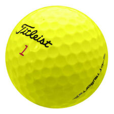 12 Titleist DT Trusoft Yellow Mint AAAAA Used Golf Balls