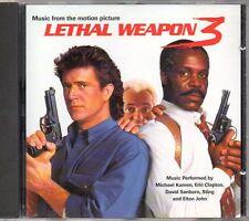 LETHAL WEAPON 3 - O.S.T. - CD (OTTIME CONDIZIONI) ARMA LETALE 3