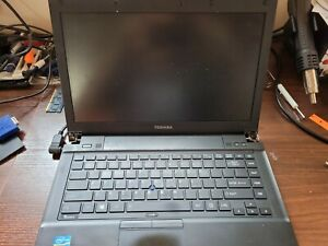 "Toshiba TECRA R940 14"" Laptop 2.6GHz i5-3320M (No display image) no HD/ram/adptr"