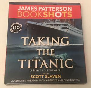 BookShots: Taking the Titanic by James Patterson (2016, CD, Unabridged)
