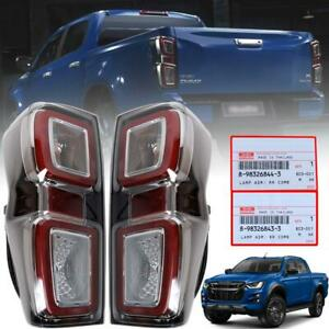 TAIL LAMP REAR LIGHT LED PAIR FOR ISUZU DMAX D-MAX HOLDEN RODEO PICKUP 2020-2021