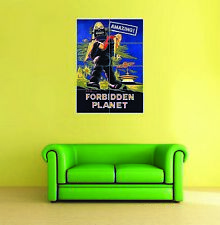 Forbidden Planet Movie Giant Poster Art Print