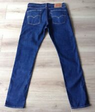LEVIS 510 JEANS SKINNY FIT STRETCH SIZE 33 x 32 RED TAB VGC