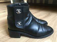 Authentic CHANEL leather shoes EURO size 39 C