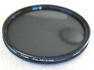 77mm Vivitar Polarizing Filter - Slim Linear Polarizer - NEW Old Stock