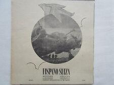 1939 PUB HISPANO-SUIZA MOTEUR HELICE AVION BREGUET 690 ORIGINAL AD