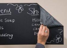 Autoadhesivo extraíble Vinilo Pared Adhesivo Blackboard con 5 fosfatadas Incluido
