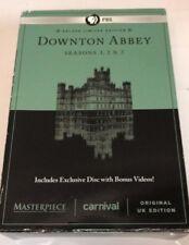 PBS Downtown Abbey - Season 1,2 & 3 (DVD) Very Good