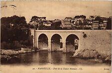 CPA MARSEILLE Pont de la Fausse Monnaie (404863)